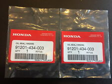 Honda xr185 xr200 xr250 xr500 tlr200 cn250 ch250 Oil Seal Set Of 2 Genuine.