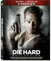 Die Hard: 5 Film Collection (BluRay) NEW!! (No Digital) *FAST FREE SHIP*