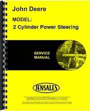 John Deere 2 Cylinder Power Steering Service Manual