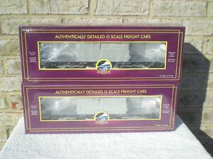 Sealed 2 Pack: MTH Premier General Electric (GE) 47' TTX Flat Car w Transformer