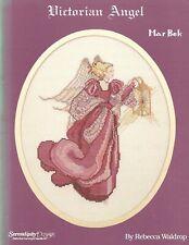 Marbek Victorian Angel cross stitch chart religious