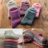 Women Socks Warm Winter Socks Wool Thick Woven Cashmere Thermal Sock For Female@