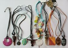 Bulk Lot x 10 Assorted Girls Ladies Necklaces New Clearance