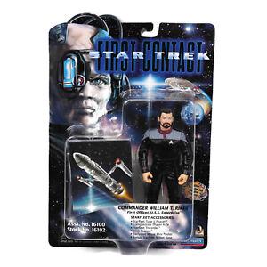 Star Trek First Contact Commander William T. Riker Action Figure 1996