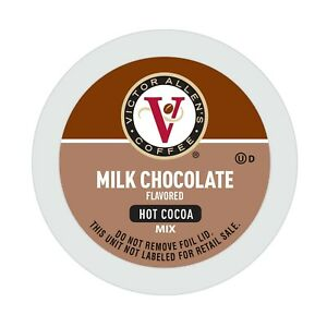 Victor Allen's Coffee Milk Chocolate Flavored Hot Cocoa Mix, 42 Count Cups