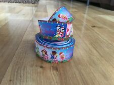 One Metre Peppa Disney Christmas Grosgrain Ribbon, Crafts Bows Cakes Dummy Clip