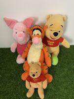 Disney Classic Pooh peluche bébé couette-Pooh tigrou porcinet et bourriquet NEUF