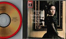 KATHLEEN BATTLE Mozart Arias JAPAN 24k GOLD CD w/Pic Sleeve CE43-5513 Free S&H
