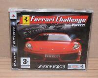 RARE Ferrari Challenge Trofen Pirelli Promo Disc CD case PS3 Playstation 3 PAL