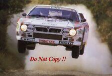 MIKI Biasion JOLLY CLUB LANCIA 037 Rally WRC Stagione 1985 foto 1
