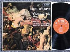 Ravel - Berlioz - Sheherazade etc.- Regine Crespin - Decca mono LP LXT 6081