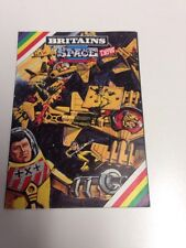 Vintage 1981 Britains Space - A World of Models Lookbook Catalog R