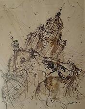 GARINO PIERO Composizione 1978 tecnica mista su carta 30x25 cm