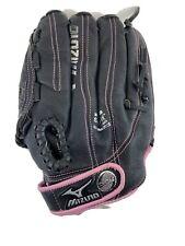 "Mizuno GPP1153 ""Finch"" Pink & Black Softball Youth Glove 11.5"" Inch Right Hand"