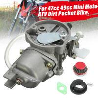 Carburatore Carburatore & Filtro Aria 47cc 49cc Mini Moto Atv Quad Dirt Bike