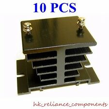 10 x THICK Aluminum Heat Sink for 0A Solid State Relay SSR Weighs 130g 4.6Oz