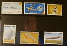 Ghana Aircraft & Aviation Stamps Lot of 23 - MNH - See Details for List
