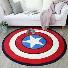The Avengers Captain America Area Rugs Living Room Carpet Bedroom Floor Mats