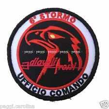 Patch A50 6° Stormo Ghedi – Diavoli Rossi Ufficio Comando Toppa Patch con velcro