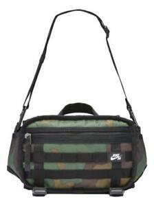 Nike SB Rpm Fanny Pack Crossbody Bag Casual (One Size, Camo) Unisex CZ1865-010