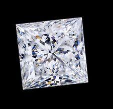 3.7mm VS CLARITY PRINCESS-FACET NATURAL AFRICAN DIAMOND (E/F COLOUR)