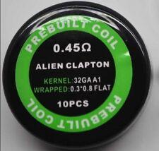 Alien Clapton Coils A1 pre-built coils 0.45ohm pack of 10 coils RBA RTA RDA