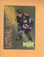 1996 97 METAL UNIVERSE LETHAL WEAPON SUPER POWER #20 DOUG WEIGHT EDMONTON OILERS