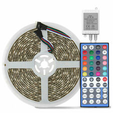 5M RGBWW300Leds 5050 Waterproof 60leds/m LED Strip Light + 44-Keys Music Remote
