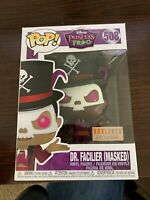 New Funko Pop Dr Facilier (Masked) #508 Box Lunch Exclusive