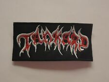 TANKARD THRASH METAL EMBROIDERED PATCH