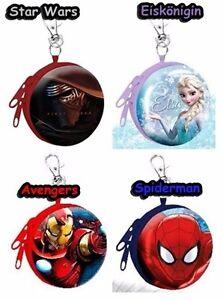 Star Wars Eiskönigin Avengers Spiderman Geldbörse Portmonee Kinder Geldbeutel