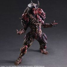 Predator Action Figure Toy Alien Square Enix Variant Play Arts Kai Statue Series