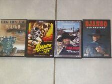 4 Western DVDs DJANGO
