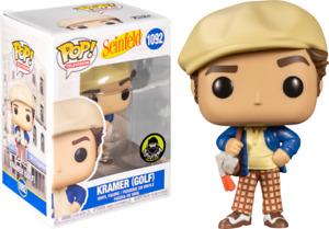 Funko POP! Seinfeld #1092 Kramer (Golf) (Popcultcha) [In Pop Protector]