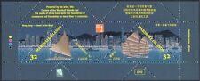Isole MARSHALL 1997 barche/navi/Trasporto/Vela/HK 97 stampex 2v M/S (b1105)