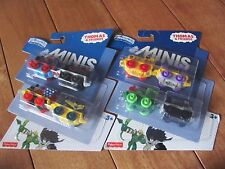 Thomas the Train DC Super Friends Minis 4 Pack lot of 2 w/Flash Wonder Woman NEW