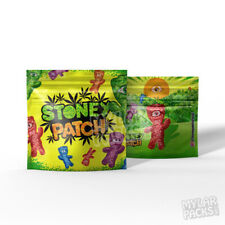 """Custom Printed Empty Sour Kids 4""""x4"""" Mylar Bags Candy Edibles Packaging 🇺🇸"""