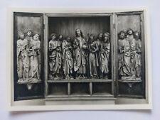 Tilman Riemenschneider Sculpture Heidelberg Museum  B&W Postcard c1960s Altar