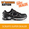 Scruffs Speedwork Trainer Safety Work Boot Workwear Steel Toe cap Black