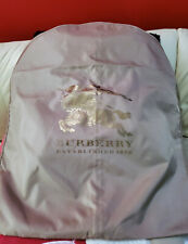Burberry Coat Dust Protector Cover Storage Garment Bag Rare Knight Logo