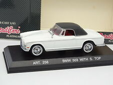Detalle Cars 1/43 - BMW 503 con Suave Top Blanco