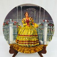 "1980 Gone With The Wind Collector Plate ""Melanie"" 3rd in Series Limited Edition"