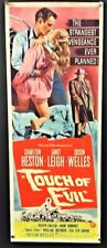 Touch of Evil Original Movie Poster Insert - Heston Welles *Hollywood Posters*