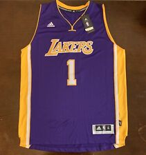 0b8b6b5544bb Adidas NBA Los Angeles Lakers D Angelo Russell Basketball Jersey
