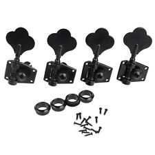 4R tuning pegs Keys Black Electric Bass Machine Heads Tuners