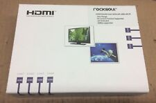 ROCKSOUL HDMI Extender by Cat5e/6 Cable with IR Control  #7219