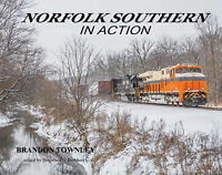 NORFOLK SOUTHERN in Action (NS Freight Trains and Business Train) -- NEW BOOK