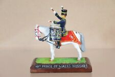 BRITAINS DUCAL RE PAINTED MOUNTED 10th PRINCE of WALES own HUSSARS DRUM HORSE nv