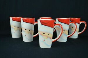 Christmas Themed Mugs, Set of 6