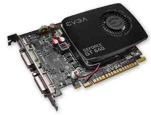 Nvidia GeForce GT 640 for Apple Mac Pro 2GB Flashed Single Slot GT 120 8800 GT